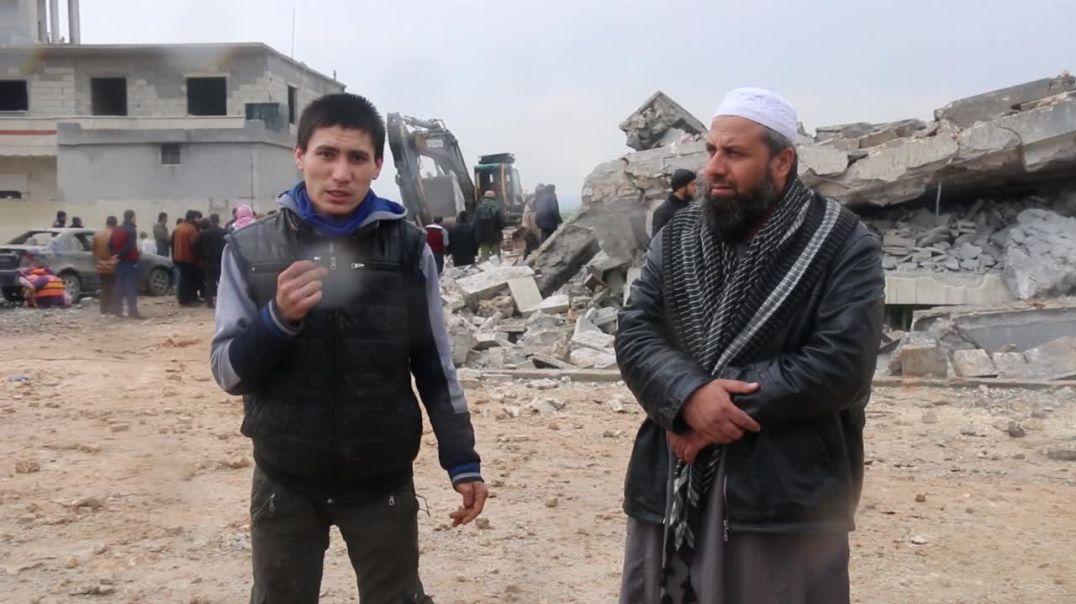 Фарук Шами - интервью с имамом мечети, который разбомбили американцы