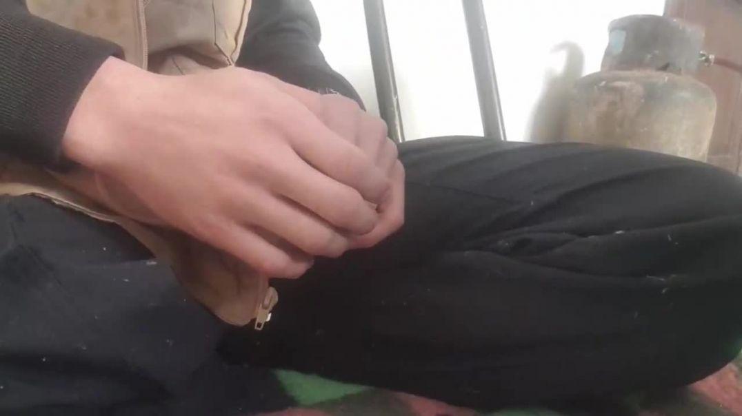 мусульманин с одной ногой