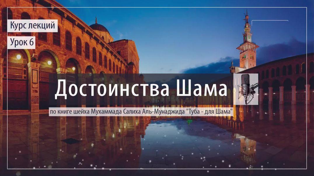 Достоинства Шама - урок 6
