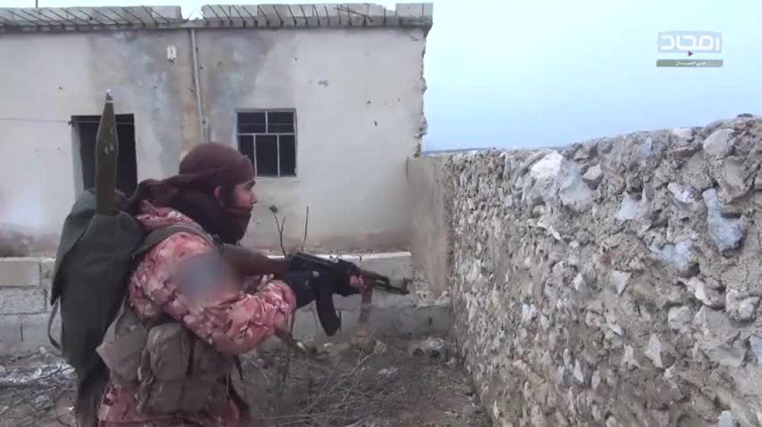 Операция ингимаси на позиции наёмников Асада