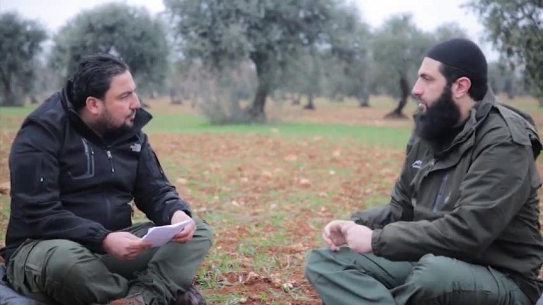 Интервью с Амиром ХТШ - Абу Мухаммадом Джулани (Озвучено на русском)