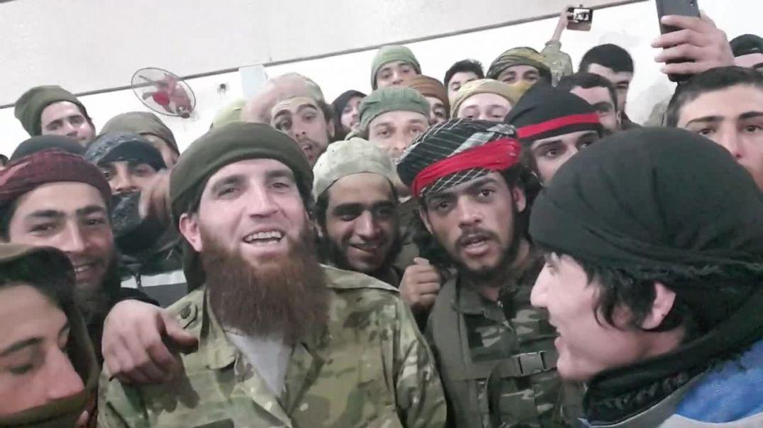 Фарук Шами с отрядом штурмовиков ХТШ