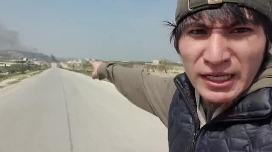 Сирийцы закрыли проезд турецким броневикам на трассе м4