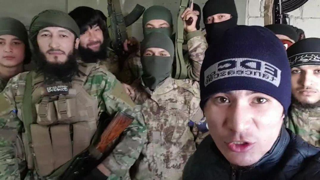 Фарук Шами на передовых вместе с штурмовиками