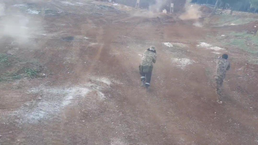 Фрагмент с курса подготовки Malhama Tactical