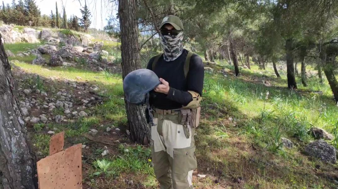 Расстрел шлема