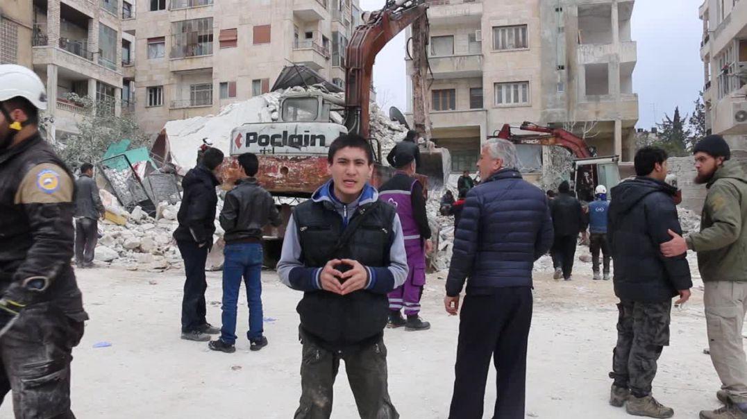 Фарук Шами - репортаж из Идлиба после авиаудара