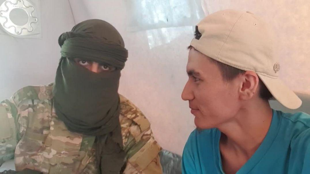 В муаскаре встретил брата Чеченца